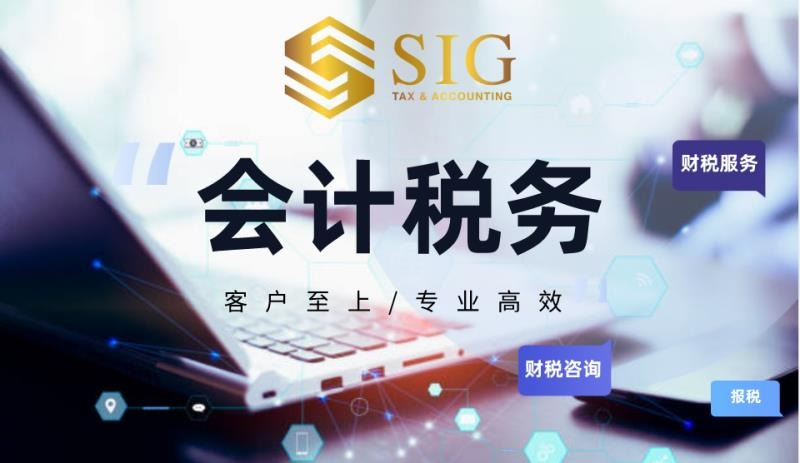 SIG-会计税务规划-布局新加坡
